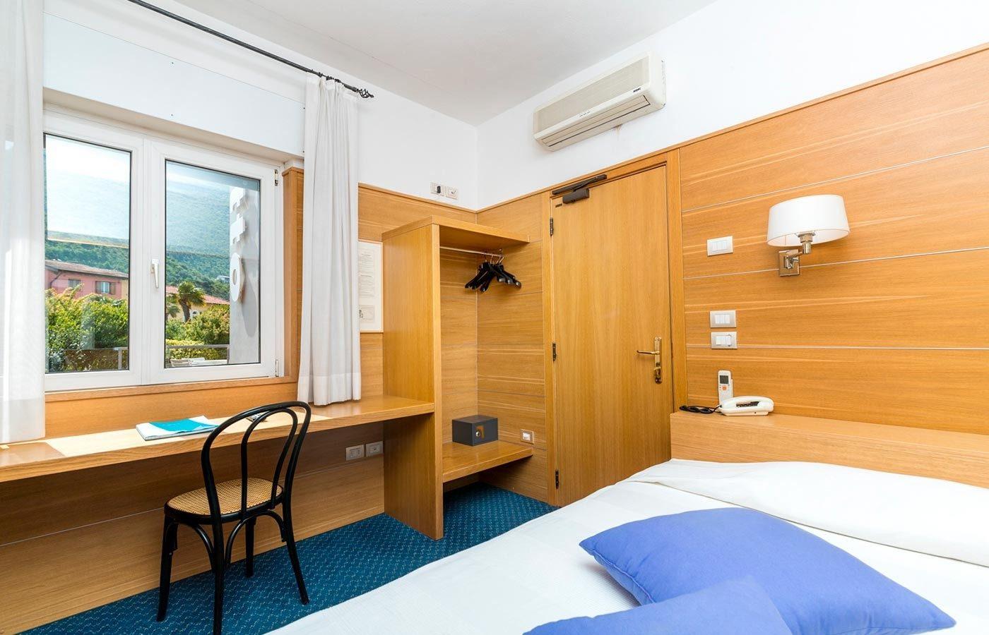 Camera singola Hotel Caminetto